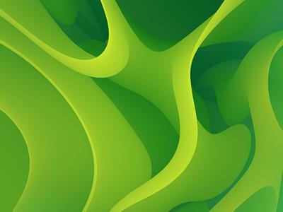 My First Blended Wallpaper branding illustrator blend wallpaper green