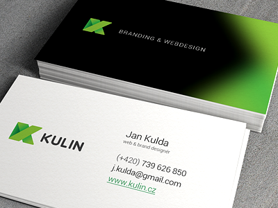 My new business card ci business card corporate identity logo paper mockup