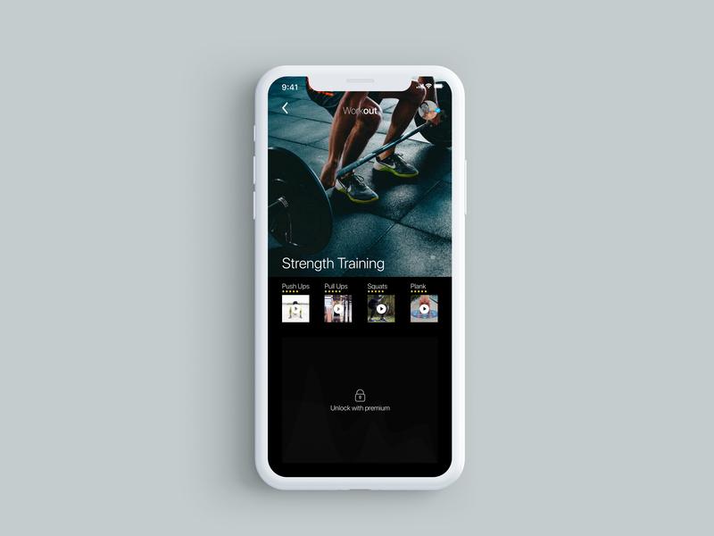 Daily UI Challenge #8 (Screen 3) icon minimal app ux ui design