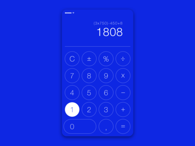 Calculator || UI Design