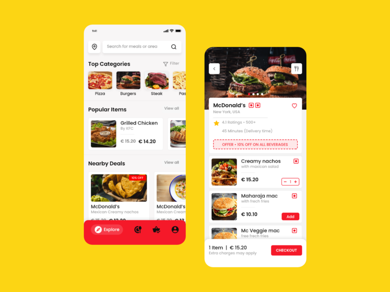 Food Delivery App typography food apps branding food and drinks mobileui food app ui ui  ux design food app design ui design mobile app design mobile app food delivery app food delivery food and drink delivery app food app