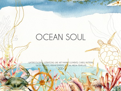 Ocean soul. Graphic collection