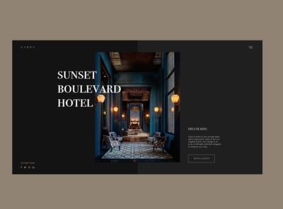 Sunset Boulevard Hotel Concept