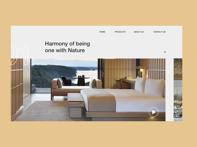 Landing page - Harmony web ux design uidesign typography minimal branding concept branding adobe xd adobe illustrator adobe photoshop