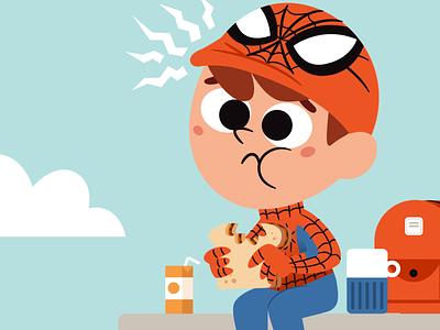 Spidey Sense childrens book comics character design kidlitillustration adobe illustrator kidlitartist kidlit kidlitart illustration vector