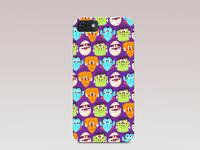 Pattern phone case