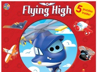 Flying high puzzlebook cover