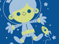 Pyjama Space Prints