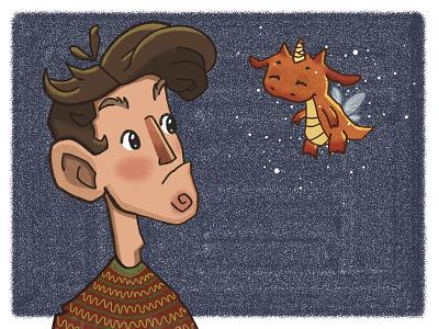 fairy dragon digital digitalart artwork character illustration art illustration drawing artist art  entertainment art