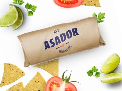 Asador Tacos bbq mexican taco branding design brand design brand identity