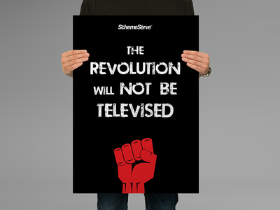Revolution Poster poster revolution marketing