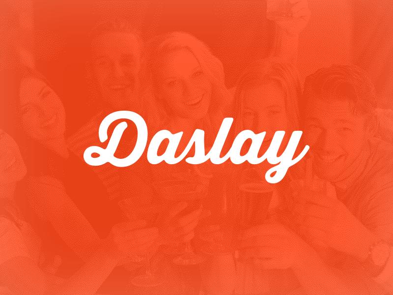 Daslay identity logo identity