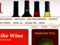 Details of a Wine Related Online Magazine