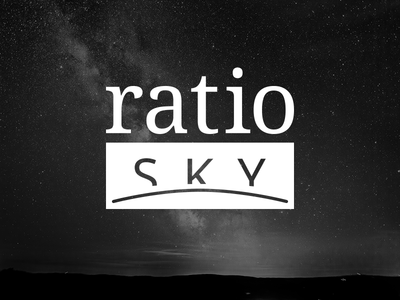 Ratiosky Indentity identity logo