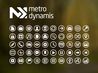Metro Dynamis New Icons metro metro style dynamis style framework icon icons collection user experience ux download phone mobile iphone web desktop