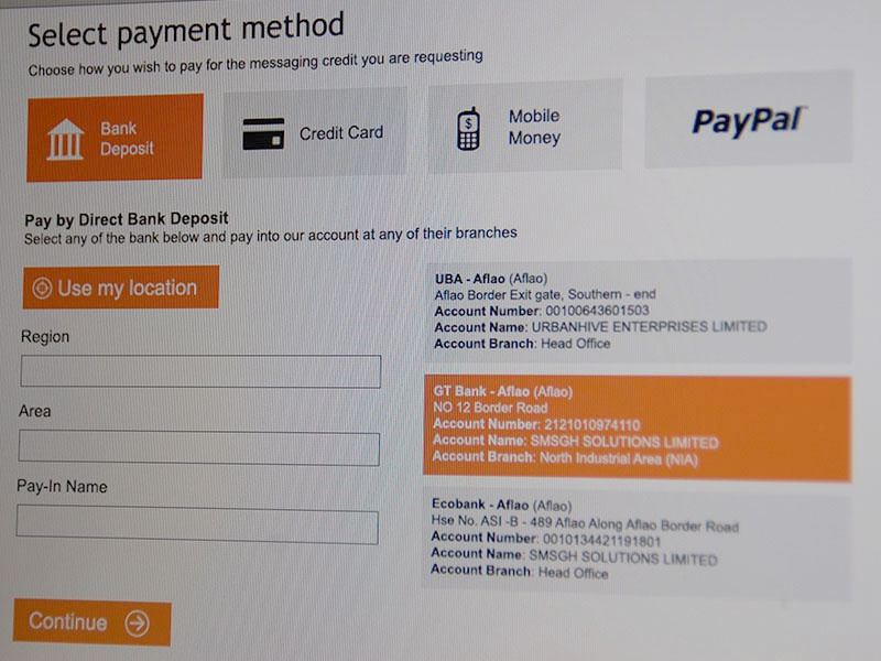 Select Payment payment metro minimalist form