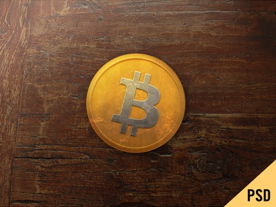 Bitcoin cryptocurrency crypto bitcoin coin money free psd texture light metal old photoshop
