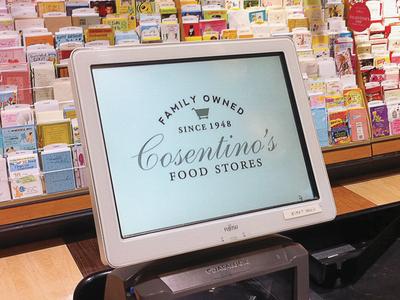 Cosentinos // Check Out Register  identity design graphic design branding