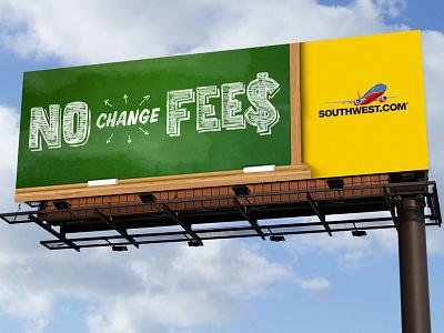 Southwest // Digital Billboard #2 branding design illustration typography