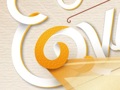 Powell Gardens // Poster #3 Detail illustration typography graphic design branding
