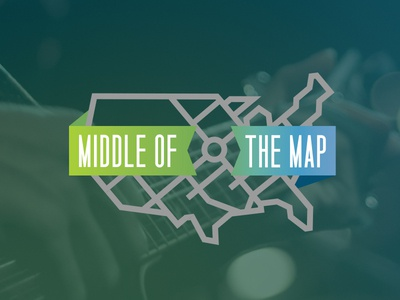 Middle of the Map Fest branding record bar ink magazine kansas city middle of the map