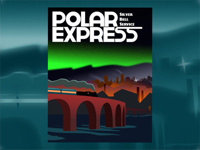 Polar Express express polar books movies poster train christmas dribbleweeklywarmup