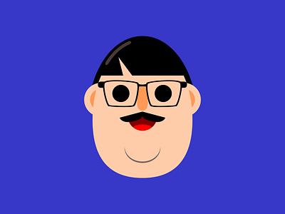 Ollie avatar graphic design dribbleweeklywarmup