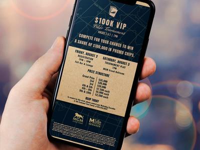 VIP Poker Touranment Email
