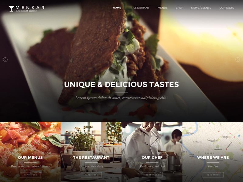 Menkar V2 restaurant food web
