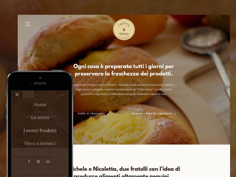 L'altro Forno ui web restaurant bakery food