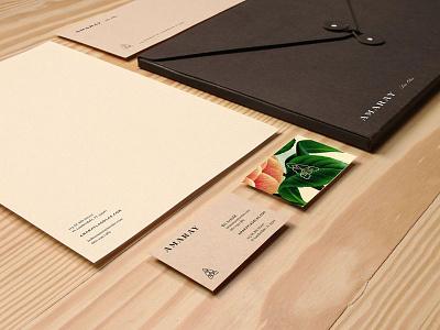 Amaray matchstic apartment florida custom type identity design branding placemaking