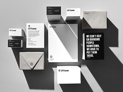 City of Atlanta—Case Study Shoot flatlay case study stationery typography rebrand identity design vis branding brand identity matchstic atlanta