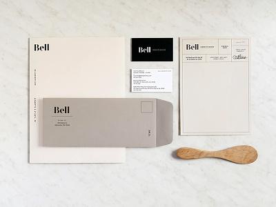 Feel Good Friday print design neutral interior design cabinetry visual identity branding stationery