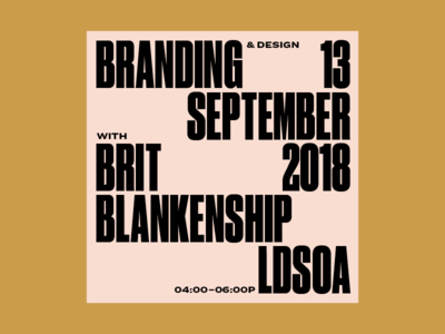 Back to School uga grid typography branding professionalism art student art school design lecture