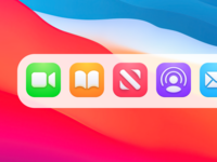 Concept new icons macOs Big Sur application app mobile colors fluent icon big sur apple mac macos figma xd design web ux ui