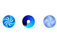 Circular flat gradients