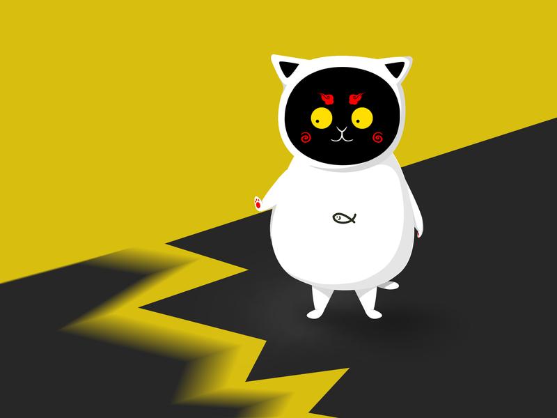 Try to design a mascot  --HAHAHA~ 设计 插图