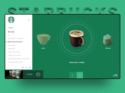 Concept starbucks