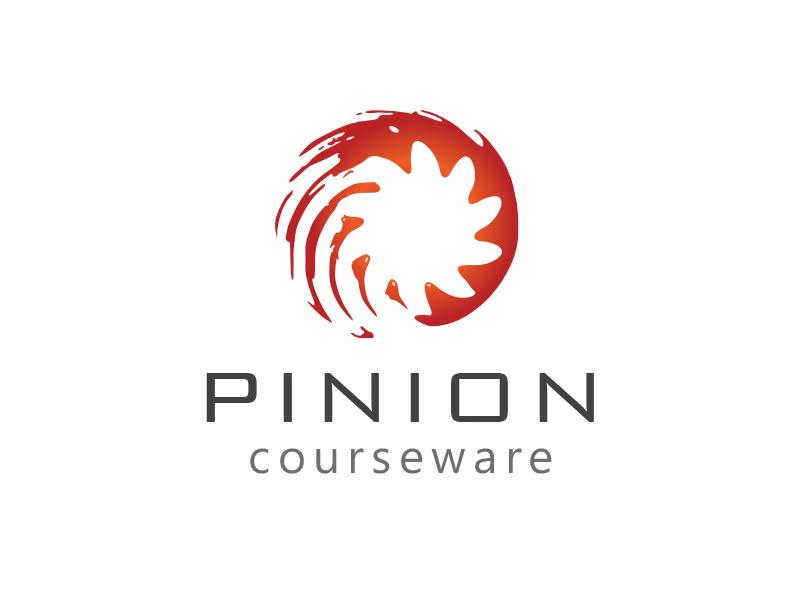 Pinion Logo Final gear orange circular