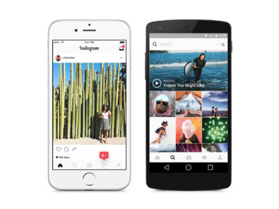 Instagram 8 for iOS and Android