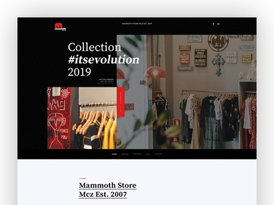 Mammoth Store - Website