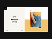 Fashion Store - Concept