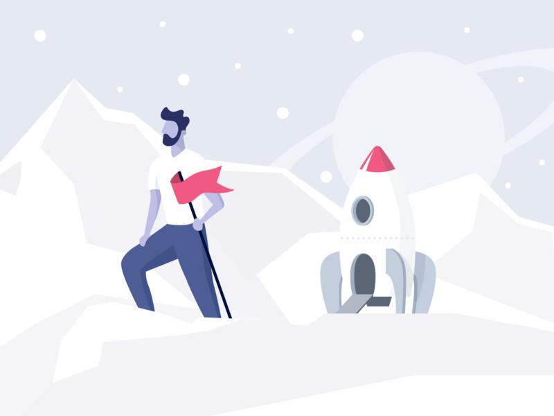 Hero illustration illustration product design hero image