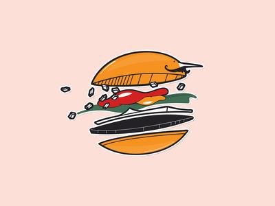 Moustacheeseburger