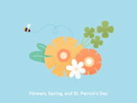 Flowers, Spring, St. Patrick's