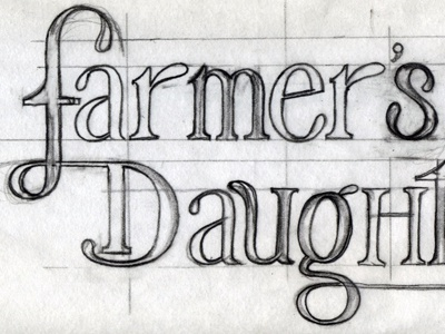 Lettering sketch by bronwyn gruet dribbble altavistaventures Image collections