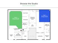 Atlanta North Studios - Interactive Floorplan