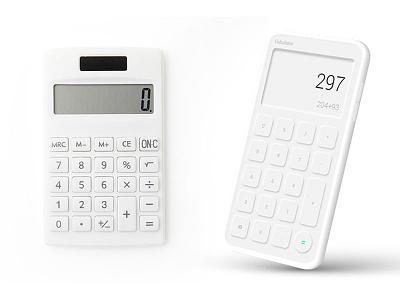 Calculator Neumorphism app design ui design trends calculator neumorphism