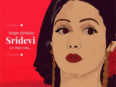 Happy Birthday Sridevi