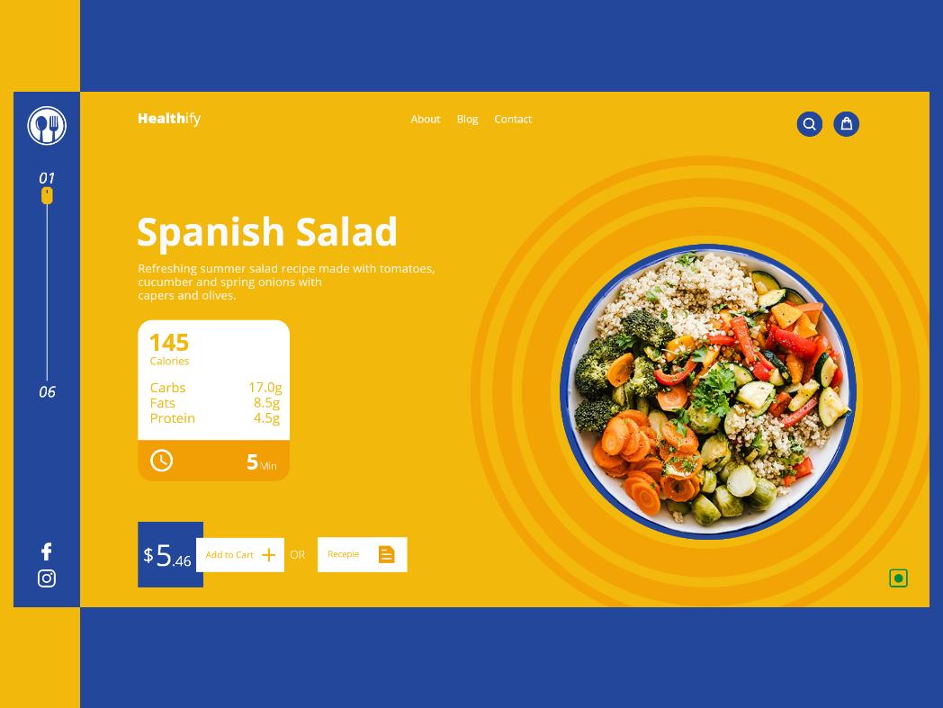 Food UI branding webui ui food
